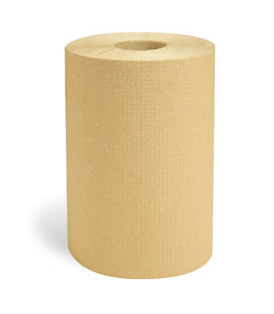 "Picture of Towel, Affex Brown Hardwound Roll,  7.9""x350', 6 rolls per case"