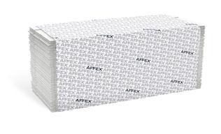 Towel Folded C-fold White