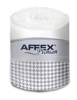"""Picture of Bath Tissue, 4.49""""x3.98"""",  Affex, 2-Ply, 80/500"""