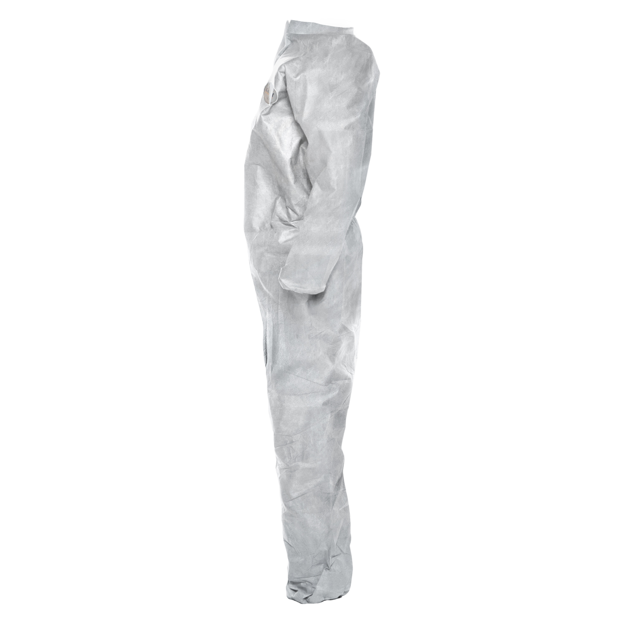 Picture of KleenGuard*    BP A20 Coveralls, MICROFORCE Barrier SMS Fabric, White, Large, 24/Carton (KCC49003)