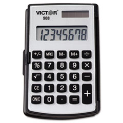 Picture of 908 Portable Pocket/Handheld Calculator, 8-Digit LCD