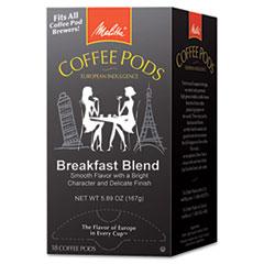 Picture of One:One Coffee Pods, Breakfast Blend, 18 Pods/Box