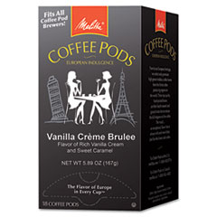 Picture of Coffee Pods, Vanilla Crème Brulee, 18 Pods/Box
