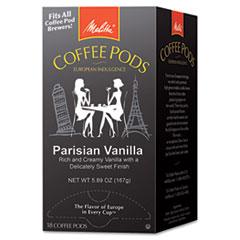 Picture of Coffee Pods, Parisian Vanilla, 18 Pods/Box