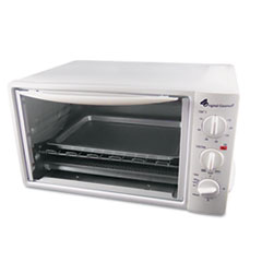 Picture of Multi-Function Toaster Oven with Multi-Use Pan, 15 x 10 x 8, White