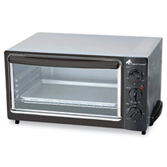 Picture of Multi-Function Toaster Oven with Multi-Use Pan, 15 x 10 x 8, Black/Stainless