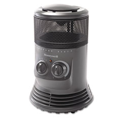 Picture of Mini-Tower Heater, 750W - 1500W, Gray