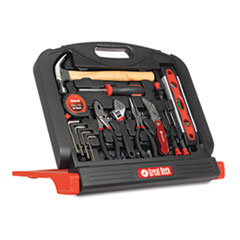 Picture of 48-Tool Set in Blow-Molded Case, Black
