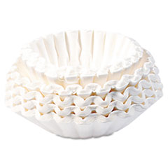 Picture of Flat Bottom Coffee Filters, 12-Cup Size, 250/Pack