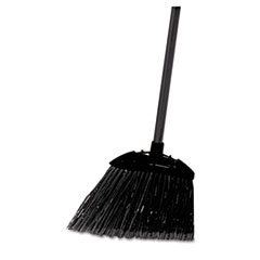 "Picture of Lobby Pro Broom, Poly Bristles, 35"" Metal Handle, Black"