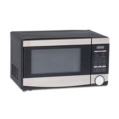 Picture of 0.7 Cu.ft Capacity Microwave Oven, 700 Watts, Stainless Steel and Black