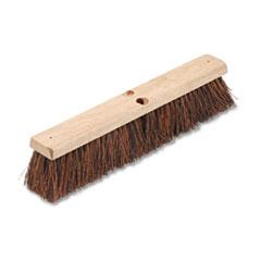 "Picture of Floor Brush Head, 3 1/4"" Natural Palmyra Fiber, 18"""