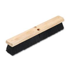 """Picture of Floor Brush Head, 2 1/2"""" Black Tampico Fiber, 18"""""""