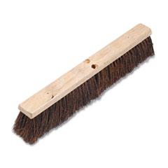 "Picture of Floor Brush Head, 3 1/4"" Natural Palmyra Fiber, 24"""