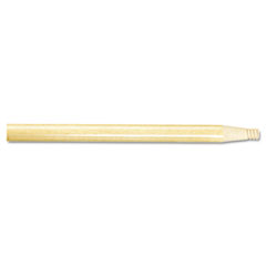 "Picture of Threaded End Broom Handle, 15/16"" x 60"", Natural Wood"