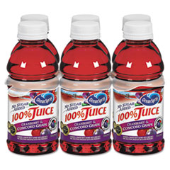 Picture of 100% Juice, Cranberry Grape, 10oz Bottle, 6/Pack