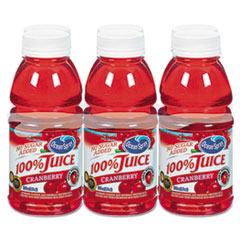 Picture of 100% Juice, Cranberry, 10oz Bottle, 6/Pack