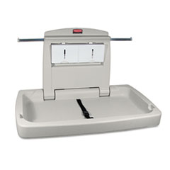 Picture of Sturdy Station 2 Baby Changing Table, Platinum