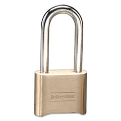 "Picture of Resettable Combination Padlock, Brass, 2"", Brass Color, 6/Box"