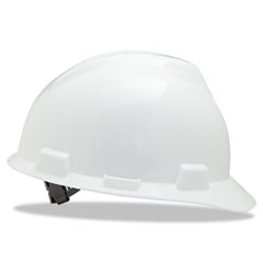 Picture of V-Gard Hard Hats, Staz-On Pin-Lock Suspension, Size 6 1/2 - 8, White