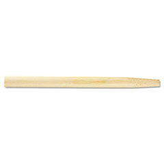 Picture of Tapered End Broom Handle, Lacquered Hardwood, 1 1/8 dia x 54, Natural