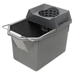 Picture of Pail/Strainer Combination, 15qt, Steel Gray