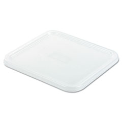 Picture of SpaceSaver Square Container Lids, 8 4/5w x 8 3/4d, White