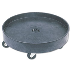 Picture of Brute Container Universal Drum Dolly, 500lb, Black