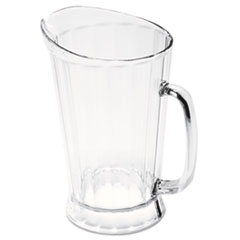 Picture of Bouncer II Plastic Pitcher, 60 oz, Clear