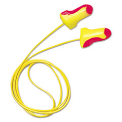Picture of LL-30 Laser Lite Single-Use Earplugs, Corded, 32NRR, Magenta/Yellow, 100 Pairs