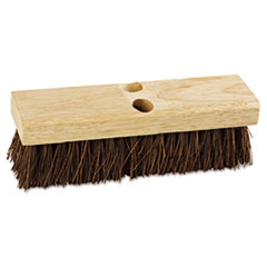 "Picture of Deck Brush Head, 10"" Wide, Palmyra Bristles"