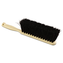 "Picture of Counter Brush, Tampico Fill, 8"" Long, Tan Handle"