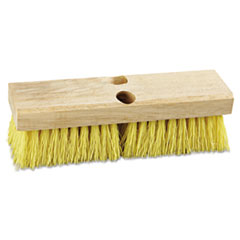 "Picture of Deck Brush Head, 10"" Wide, Polypropylene Bristles"