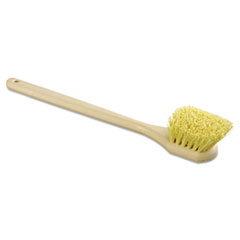 "Picture of Utility Brush, Polypropylene Fill, 20"" Long, Tan Handle"