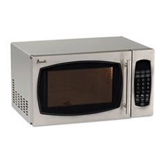 Picture of 0.9 Cubic Foot Capacity Stainless Steel Microwave Oven, 900 Watts