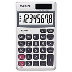 Picture of SL-300SV Handheld Calculator, 8-Digit LCD