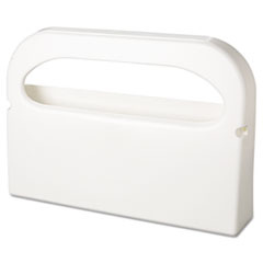 Picture of Toilet Seat Cover Dispenser, Half-Fold, Plastic, White, 16w x 3 1/4d x 11 1/2h