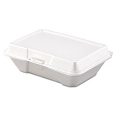 Picture of Carryout Food Container, Foam, 1-Comp, 9 3/10 x 6 2/5 x 2 9/10, 200/Carton