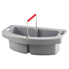 Picture of Maid Caddy, 2-Comp, 16w x 9d x 5h, Gray