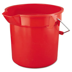Picture of BRUTE Round Utility Pail, 14qt, Red