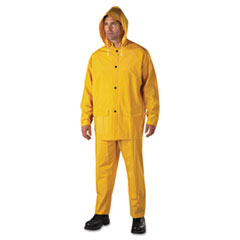 Picture of Rainsuit, PVC/Polyester, Yellow, 2X-Large