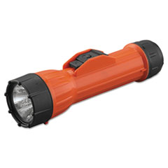 Picture of WorkSafe Waterproof Flashlight, 2D (Sold Separately), Orange/Black