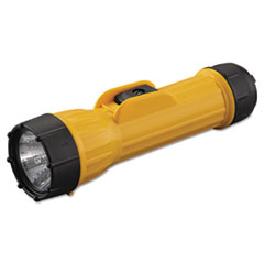Picture of Industrial Heavy-Duty Flashlight, 2D (Sold Separately), Yellow/Black
