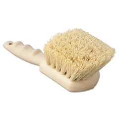 "Picture of Utility Brush, Tampico Fill, 8 1/2"" Long, Tan Handle"