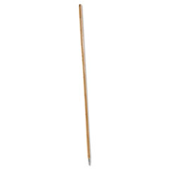 Picture of Metal Tip Threaded Hardwood Broom Handle, 1 1/8 dia x 60, Natural