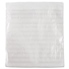 Picture of Get Reddi Sandwich Bag, 1 x 6 3/4 x 6 3/4, .36mil, Clear, 2000/Carton