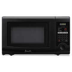 Picture of 0.7 Cubic Foot Capacity Microwave Oven, 700 Watts, Black