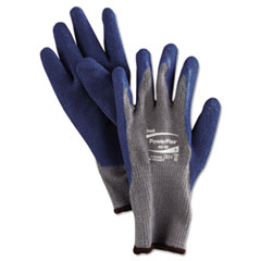 Picture of PowerFlex Gloves, Blue/Gray, Size 9, 1 Pair