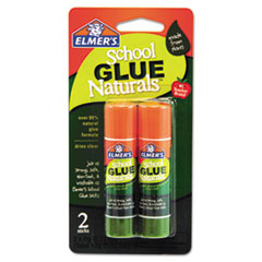 Picture of School Glue Naturals, Clear, 0.21 oz Stick, 2 per Pack