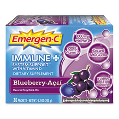 Picture of Immune+ Formula, .3oz, Blueberry Acai, 30/Pack